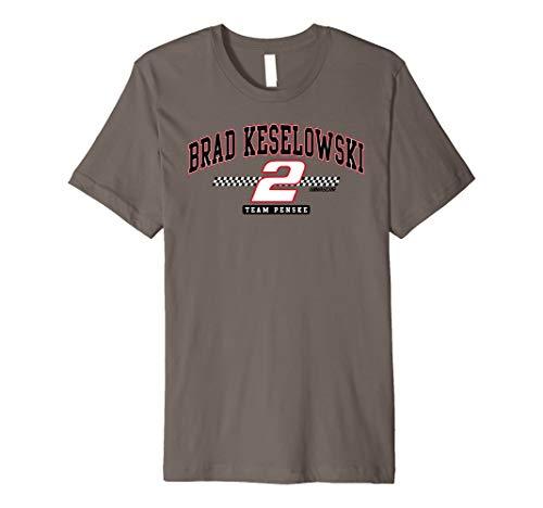 NASCAR - Brad Keselowski - Arch Premium T-Shirt