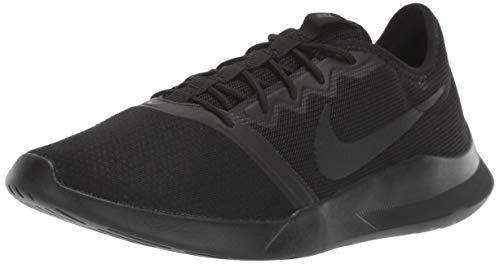 Zapatillas Nike Viale Tech Racer para mujer, Negro (Negro/Negro), 42 EU