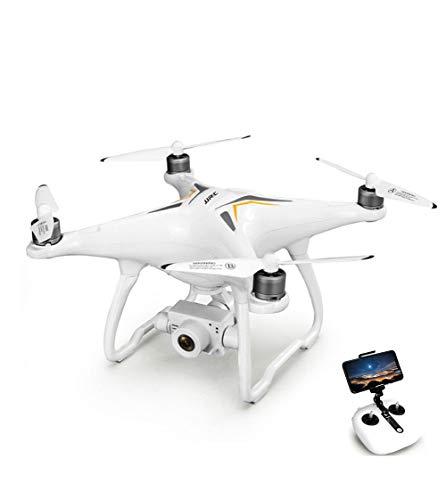 Thole RC Drohne Längere Flugzeit Fernbedienung Quadrocopter Kamera WiFi Hubschrauber Höhe Halten Headless Modus Drohne (weiß)