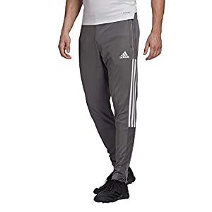 adidas mens Tiro 21 Track Pants Team Grey Small