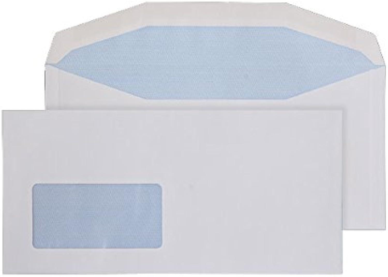 Purely Everyday Briefumschläge, DL, 114 x 235 mm, 100 100 100 g m ², gummiert, Versandhülle tiefem Fenster, Weiß, 1000 Stück B00MOGZSV4   Am wirtschaftlichsten  c66927