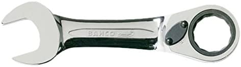 Bahco Ratcheting Combination Wrench-Short Series 10RM-17 Gray
