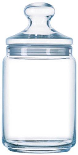 Luminarc ARC 34819 Big Pot Club Dose mit Deckel, Vorratsglas, Bonbondose, 2 Liter, Glas, transparent, 1 Stück
