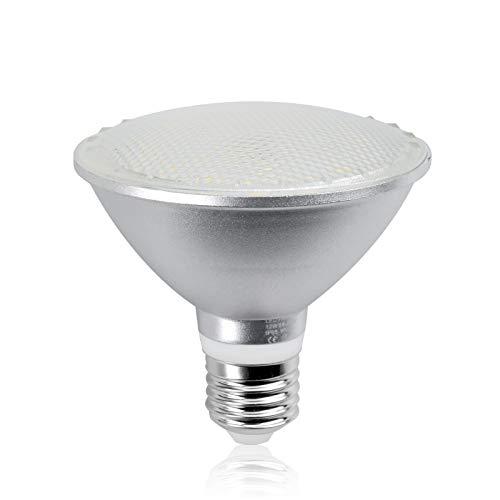 Bonlux PAR30 LED E27 Reflektorstrahler 12W Lampe ersetzt 120W wasserdicht IP65 Reflektorlampe AC 85-265V 50-60hz Kaltweiß 6000K 120 Grad (Nicht Dimmbar) 1-Stück