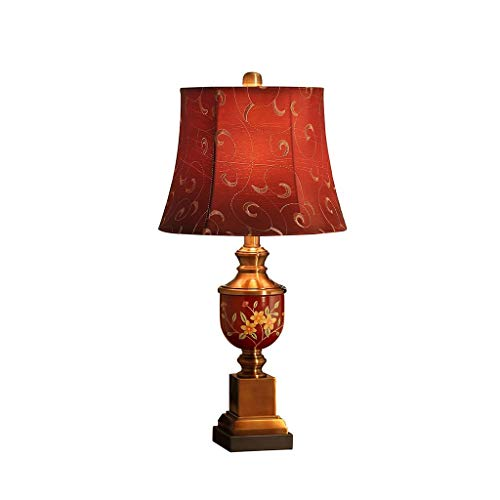 JYDQM Mesita de Noche Lámpara de Mesa de Arte Estilo de Cristal Acento Escritorio Luz Decorativa Sala de Estar Dormitorio Dormitorio Universitario