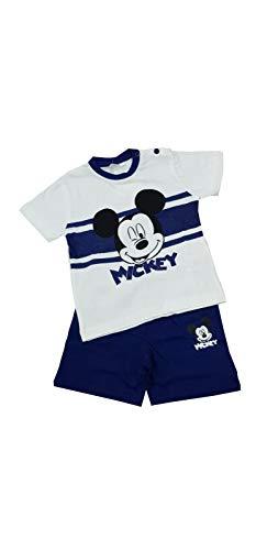 Sicem International Srl Pijama y conjunto corto para niño y niña, de verano, de algodón, de punto, para recién nacido y bebé, varios modelos B2WD101549 Marine 3 años