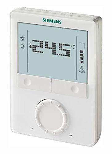 Siemens RDG160KN Raumthermostat mit KNX Kommunikation, AC 24V, für Lüfterspulen und universell einsetzbar, Wärmepumpe, Gebläse, S55770-T297, 7612914091505