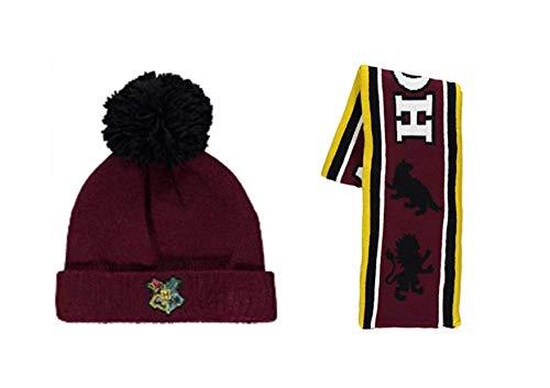Harry Potter Hogwarts - Juego de gorro y bufanda