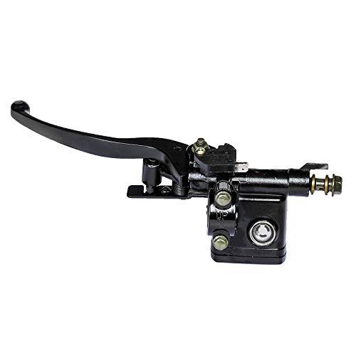 Left Hydraulic Master Cylinder Handle Brake Lever For 50-150cc Pit Dirt Bike ATV