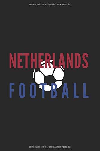 Niederländischer Fußballfan: Sport und Länder 120 karierte Seiten