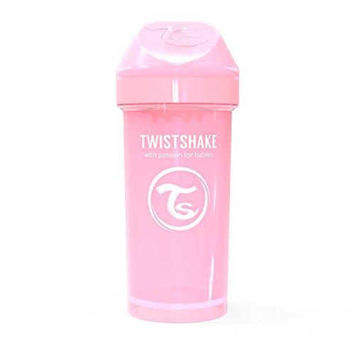 Twistshake 78279 - Vaso con boquilla, color pastel rosa