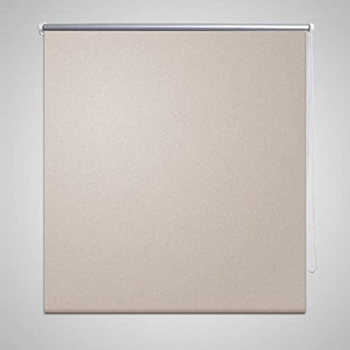 Persiana Opaca Enrollable Color café 120x175 cm Casa y jardín Decoración Tratamientos de la Ventana Persianas y estores