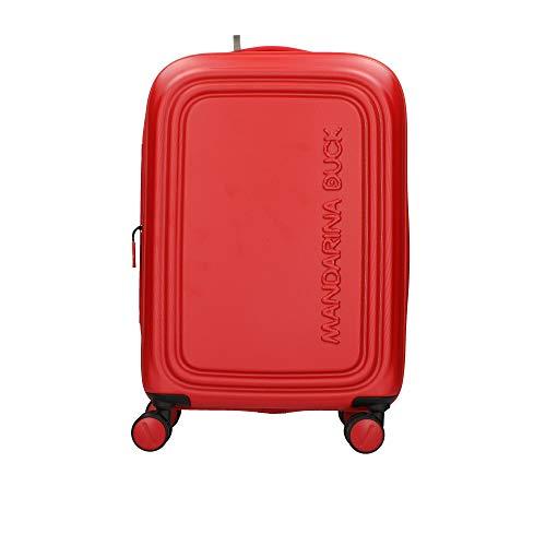 Mandarina Duck Logoduck + S Maleta con 4 ruedas rojo