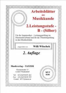 ARBEITSBLAETTER B SILBER MUSIKKUNDE - arrangiert für Schlagzeug [Noten / Sheetmusic] Komponist: WLTSCHEK WILLI