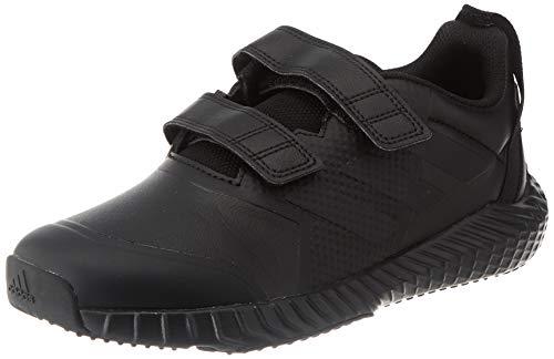 adidas Unisex-Kinder Fortagym Cf K Sneaker, Core Black Core Black Solid Grey, 35.5 EU