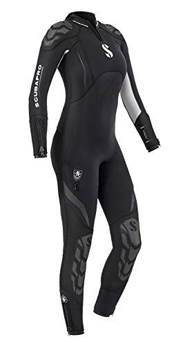 Scubapro Everflex Steamer 5/4 mm Womens Wetsuit - Black/White - 4XL