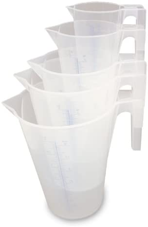 WirthCo 94120 Funnel King General Purpose Graduated Measuring Container - 500 ml Capacity