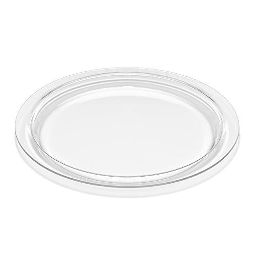 Schott Servierschale aus robustem Borosilikatglas-zum Backen, Kochen, Braten, Grillen-Made in Germany-38cm rund, 38 cm