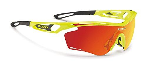 Rudy Project Tralyx Brille Yellow Fluo Gloss - rp Optics multilaser orange 2020 Fahrradbrille