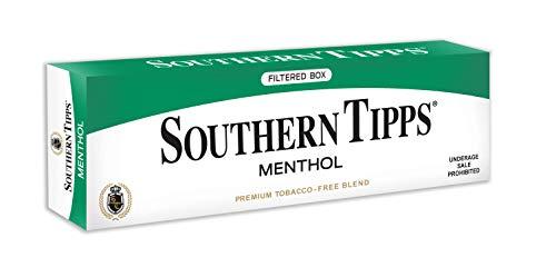 SOUTHERN TIPPS Menthol Carton - Tobacco & Nicotine Free - Herbal - Cigarette Alternative