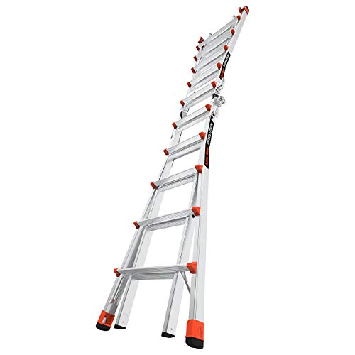 Little Giant Ladders, Revolution, M22, 22 ft, Multi-Position Ladder, Aluminum, Type 1A, 300, 300 lbs...