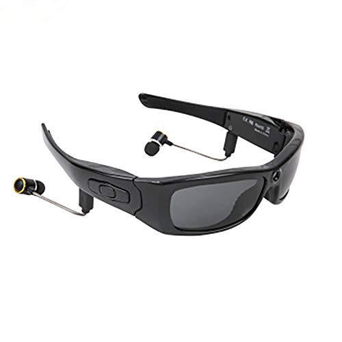カメラビデオサングラス、カメラメガネ/サイクリング/ドライブ/ハイキング/釣り/狩猟撮影のための1080PのフルHDビデオ録画カメラミニDVビデオレコーダーのBluetoothヘッドフォン、