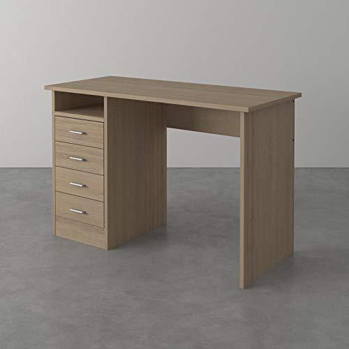 Froschkönig24 Tvilum Function Computertisch Schreibtisch Bürotisch Büro Tisch Eiche Struktur