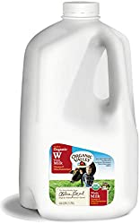 Organic Valley, Ultra Pasteurized Organic Whole Milk, Gallon, 128 fl oz
