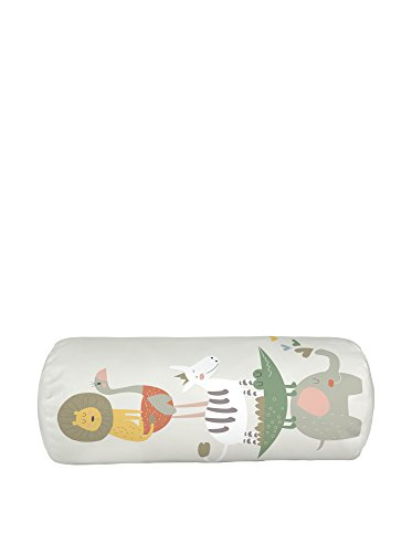 LITTLE NICE THINGS Cuscino Tubo 50X20 Animals Party 50 x 20 cm