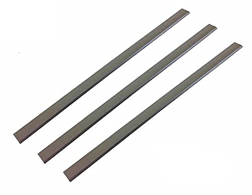 X-BAOFU, 3pcs 13-1/16' HSS Jointer Planer Blades For Jet JPM-13 708366, Grizzly 13' Delta