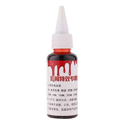 Profession Halloween maquillage faux cicatrices de blessures de sang maquillage(50 ml)