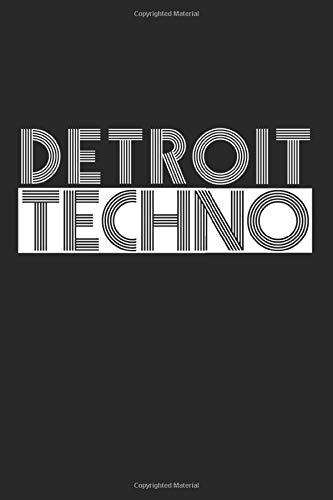 Detroit Techno: Kalender 2020 (Jahres, Monats und Wochenplaner) DIN A5 - 120 Seiten
