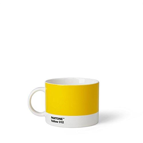 Pantone Teebecher, Porzellan, Yellow 012, 10.4 x 10.4 x 8 cm