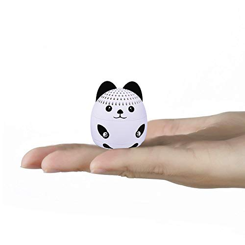 momoho Mini Bluetooth Speaker - Small Size but Great Sound Quality,Photo Selfie Button & Answer Phone Calls,BTS0011A (White Bunny)