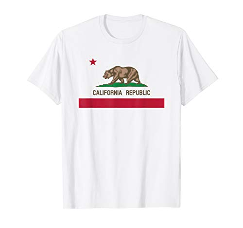 STATE OF CALIFORNIA FLAG T-Shirt
