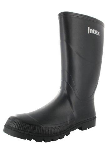 Intex - Calzado de protección de caucho para hombre negro negro, color...