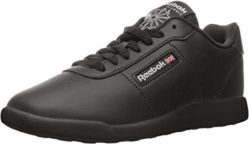 Reebok Women's Princess Lite Classic Shoe, Black, 8 W US