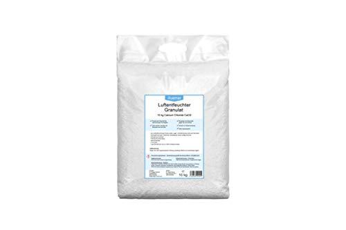 Ruemar Luftentfeuchter Granulat aus Calciumchlorid. Anti Schimmel & Geruch Raumentfeuchter in 10 kg Nachfüllpack für Box. Auto Entfeuchter gegen Feuchtigkeit in Wohnung, Bad, Keller, Boot Zubehör