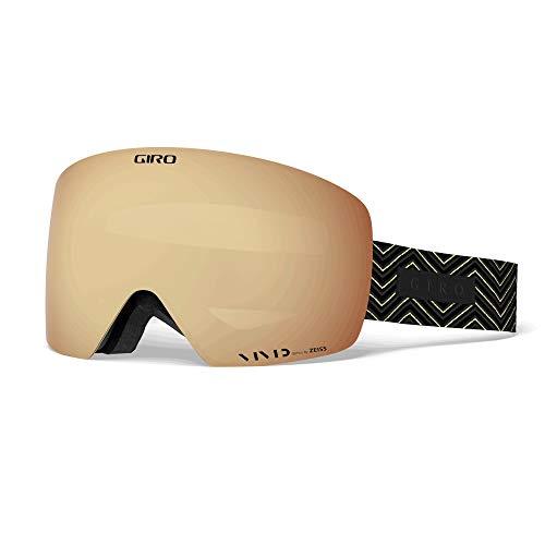 Giro Contour Masque de ski Rouge/noir Taille unique – Couleur Black Zag – Vivid Copper – Vivid Infrared
