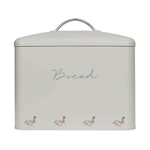 Sophie Allport – Contenitore per il pane – duro, coniglio – con coperchio – Dimensioni (L x P x A): 34 x 19,5 x 24 cm