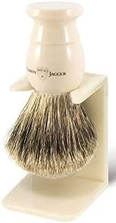 Edwin Jagger English Super Badger Shaving Brush w/Drip Stand