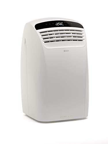 Olimpia Splendid 01920 Dolceclima Silent 10 P Climatizzatore Portatile 10.000 BTU/h, 2.6 kW, Natural Gas R290, Design Made in Italy