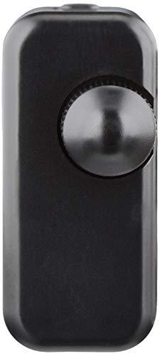 Desconocido Tischlichtdimmer mit EIN / AUS-Schalter Ideal für dimmbare LED-Glühlampen Überhitzungsschutz Schwarz 5 - 100 W 220 V-