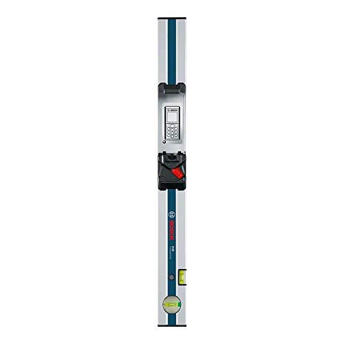 Bosch Professional Regla graduada de inclinación R60 (bolsa de protección, compatible con GLM 80), Azul/Plata, 600 mm