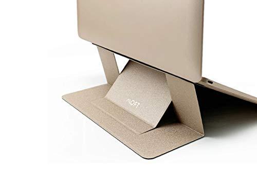 MOFT ノートPCスタンド 超軽量 タブレット 15.6インチまで MacBook/Air/Pro (ゴールド)
