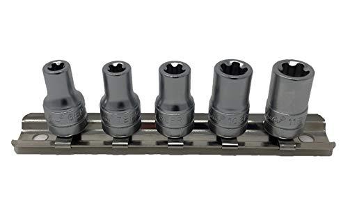 "CTA Tools 5064 5 Pc. 5 Pt. EPR Torx Plus Socket Set - 1/4"" Dr."