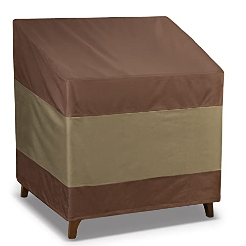 Eventronic Fundas para sillas de Patio para Muebles de Exterior, Impermeables, Fundas...