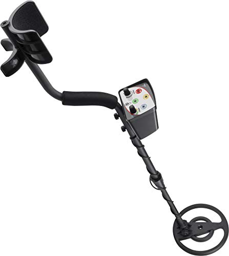 BARSKA BE13230 Winbest Pro-400 Intermediate Prospector Metal Detector for Adults with Waterproof Coil and LED Indicator
