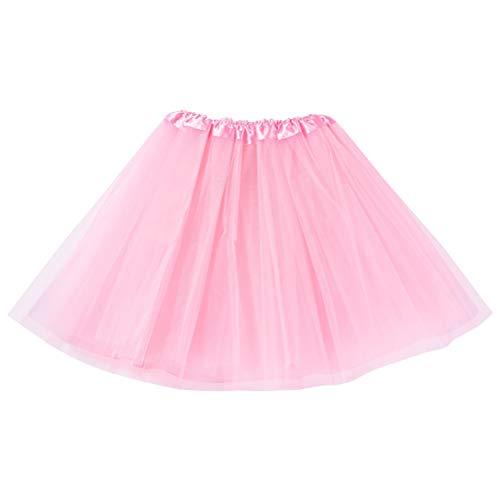 Amosfun - Badminton-Röcke für Mädchen in Rosa, Größe 40 x 20 x 1 cm