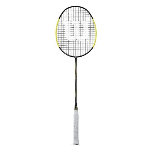 Wilson raquette de badminton, Blaze SX9000, Unisexe, Epaisseur du manche: G5, Noir/Jaune, Neutral, WRT8825004